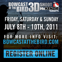 Bowcast at the Bird July 8th - 10th, 2011