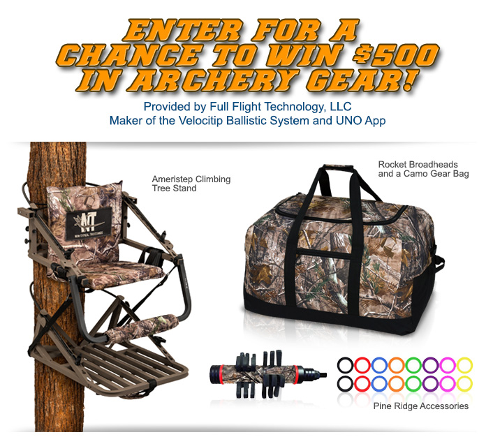 $500 Archery Gear Sign Up Image